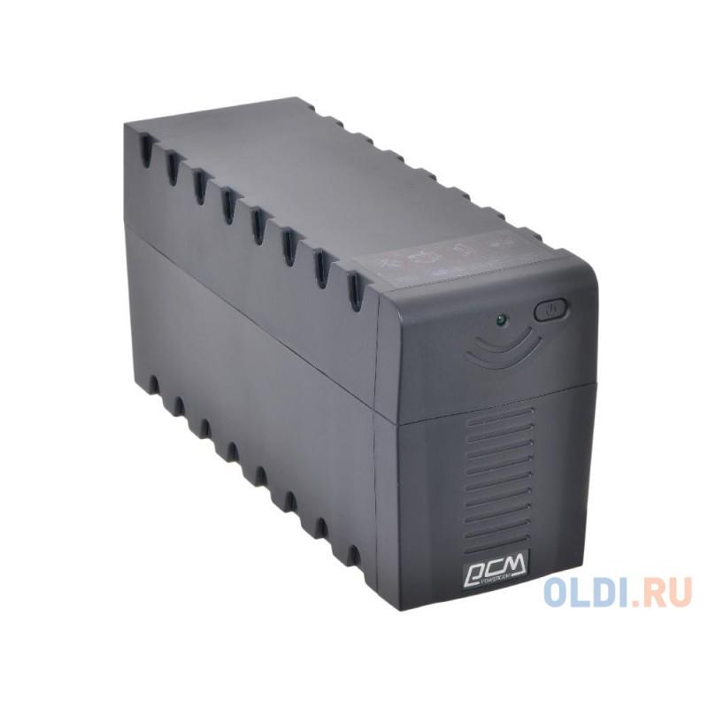 ИБП Powercom RPT-800A Raptor 800VA/480W AVR (3 EURO)