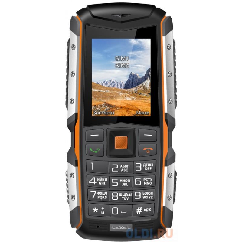 Мобильный телефон Texet TM-513R черный оранжевый 2