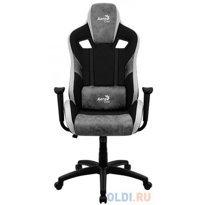 Кресло игровое Aerocool COUNT Stone Grey серый чёрный 4710562751253