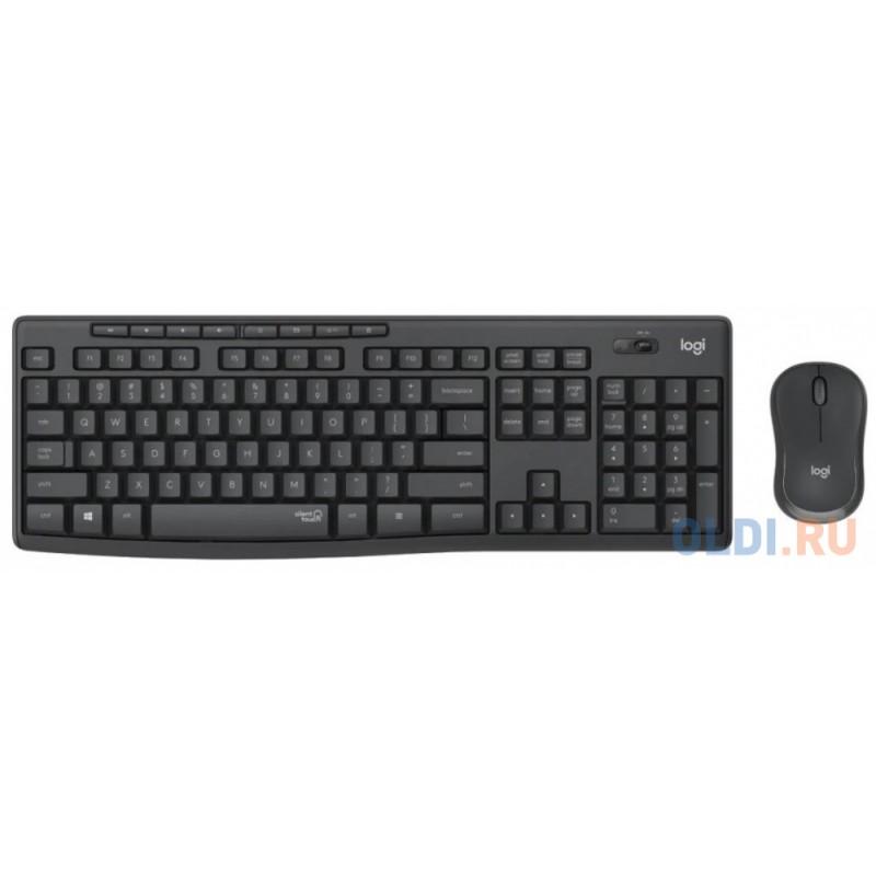 Комплект Logitech MK295 черный USB 920-009807