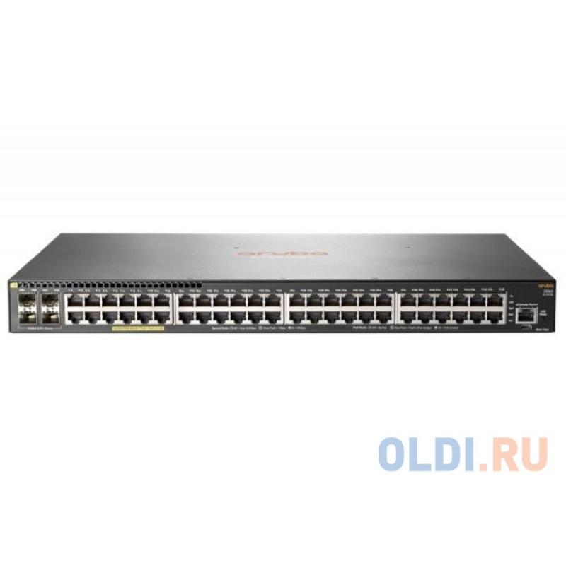 Коммутатор HP Aruba 2540 48G PoE+ 4SFP+ Switch