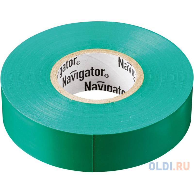 Navigator 71106 Изолента NIT-B15-20/G зелёная
