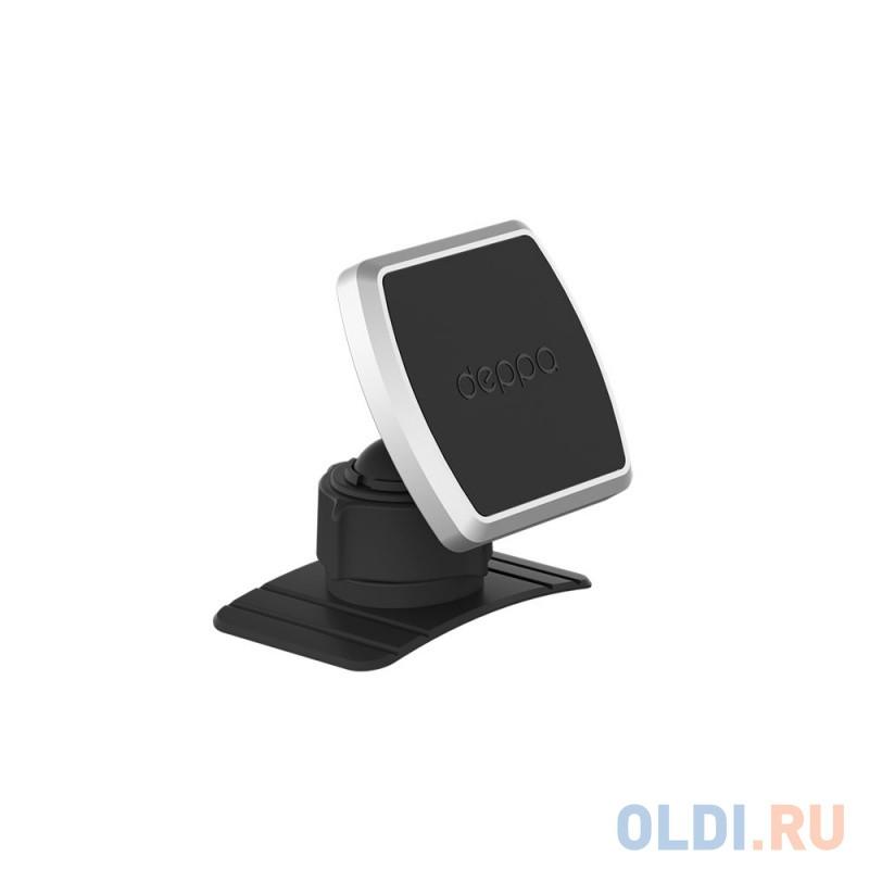 Автомобильный держатель Deppa Mage Mount для смартфонов, магнитный, крепление на приборную панель, черный