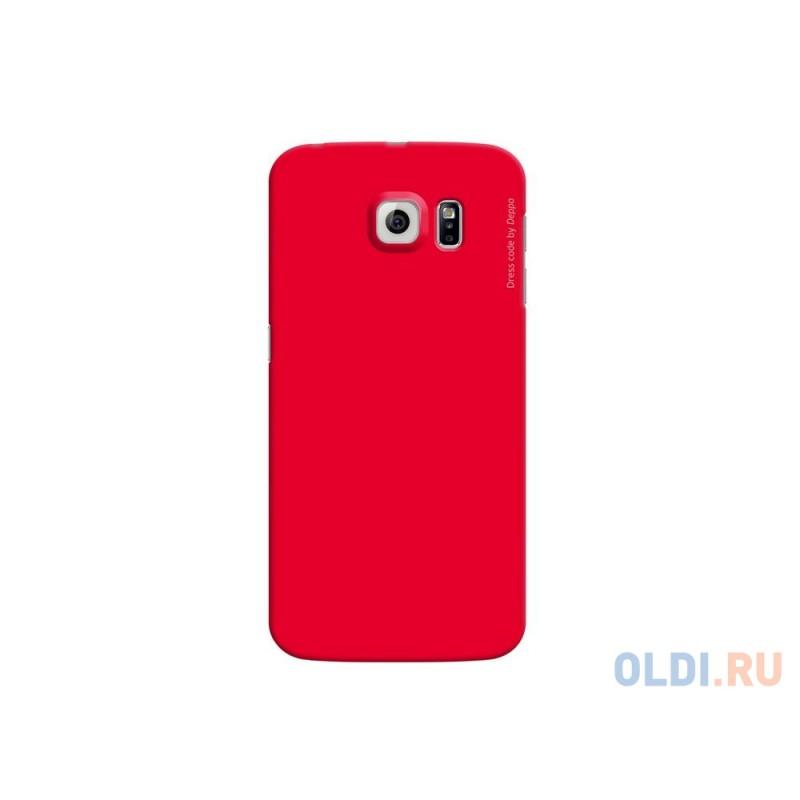Чехол Deppa Air Case  для Samsung Galaxy S6 edge красный 83187