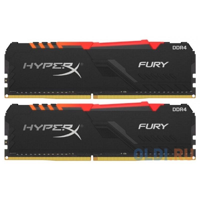 Оперативная память Kingston HX426C16FB3AK2/16 DIMM 16Gb DDR4 2666MHz
