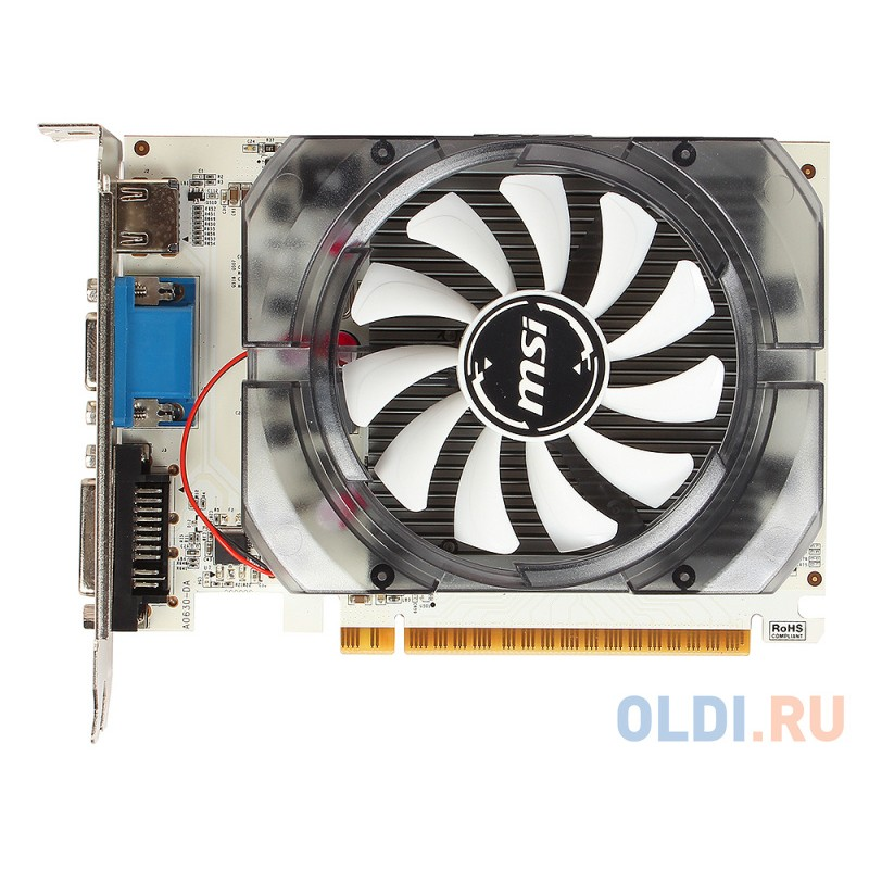 Видеокарта MSI GeForce GT730 N730-2GD3V2 2GB 700 MHz