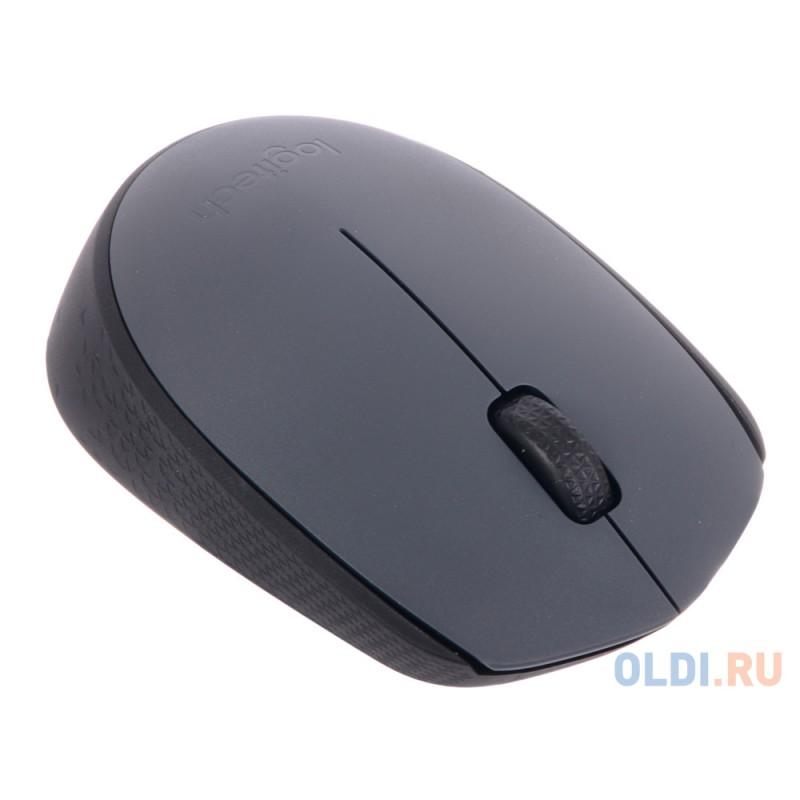 Мышь (910-004642) Logitech Wireless Mouse M170, Grey