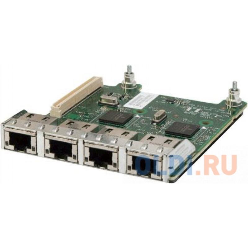 Сетевая карта Dell 540-BBHG Broadcom 5720 Quad Port 1Gbit Daughter Card (0FM487)