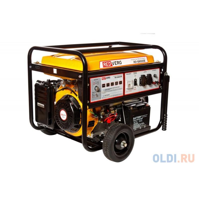 Генератор RedVerg RD-G6500E 6.5кВт