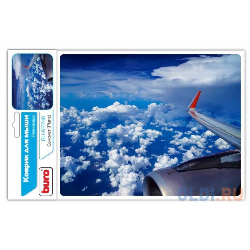Коврик для мыши Buro BU-R51748 самолет