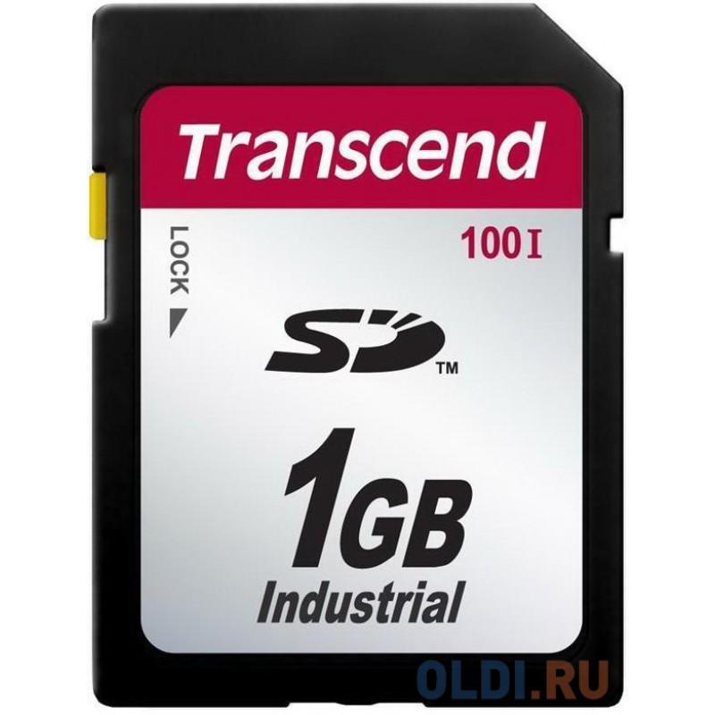Промышленная карта памяти SD Transcend 100I, 1 Гб SLC, темп. режим от -40? до +85?
