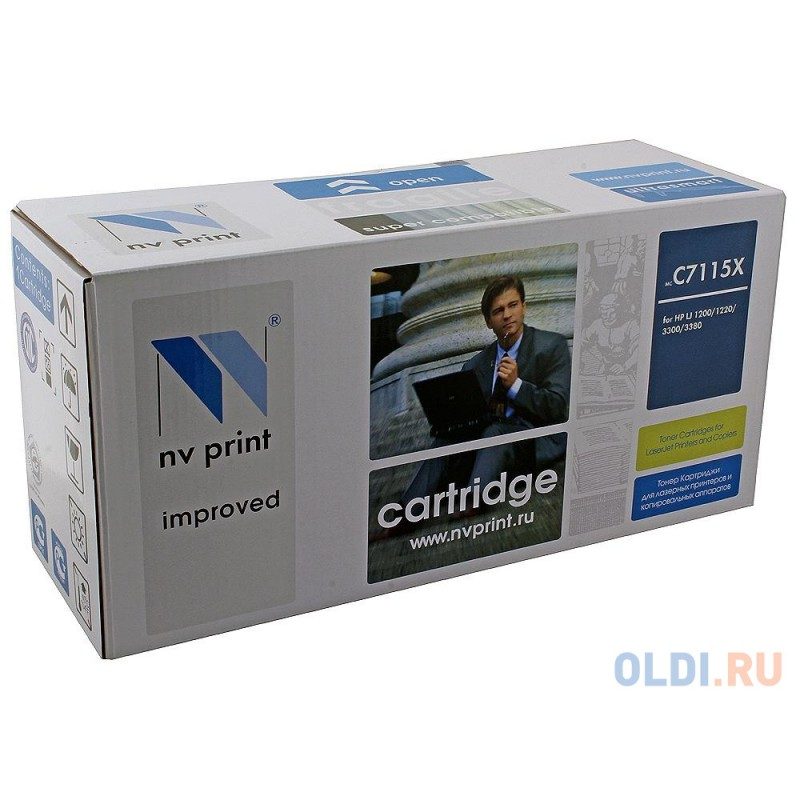 Картридж NV-Print C7115X C7115X C7115X C7115X C7115X C7115X 5000стр Черный
