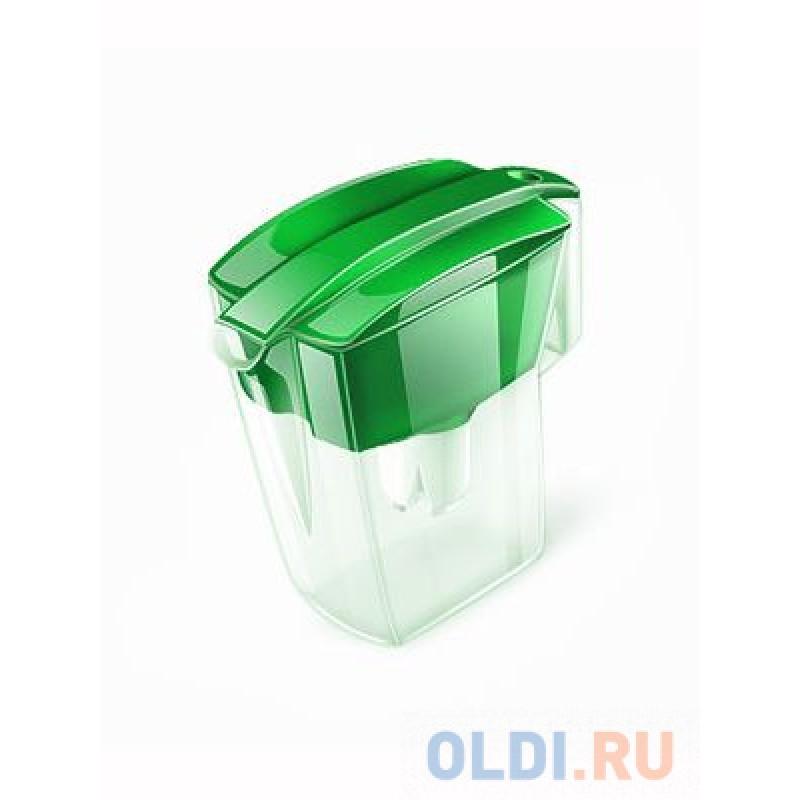 Водоочиститель Кувшин Аквафор Лайн зеленый