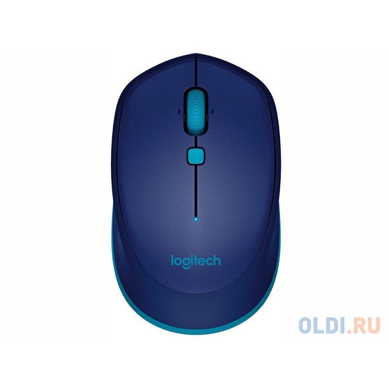 Мышь (910-004531) Logitech Bluetooth Mouse M535 Blue