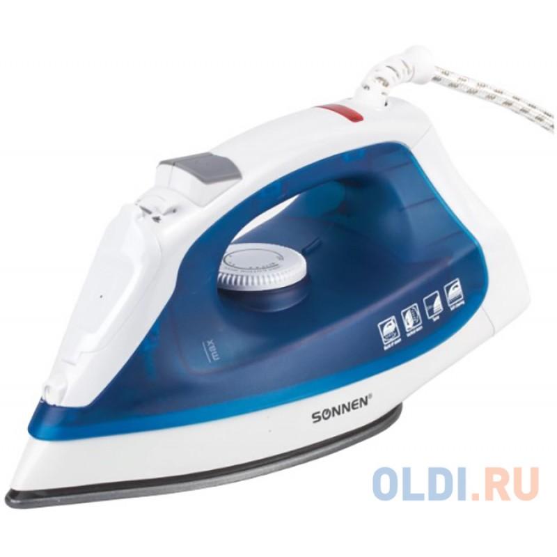 Утюг Sonnen SI-237A 1800Вт белый синий
