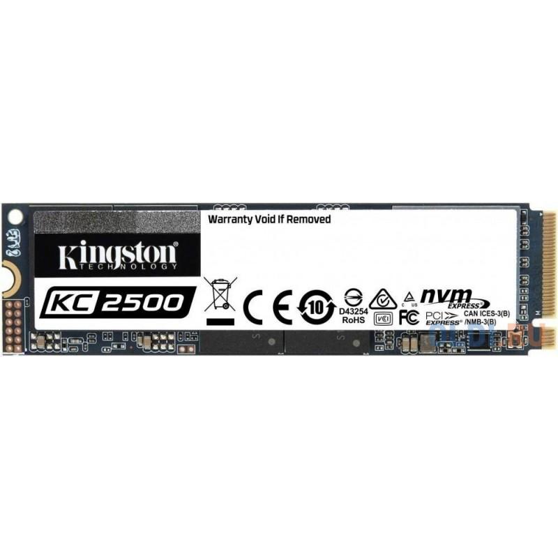 Твердотельный накопитель SSD M.2 250 Gb Kingston SKC2500M8/250G Read 3500Mb/s Write 1200Mb/s 3D NAND TLC