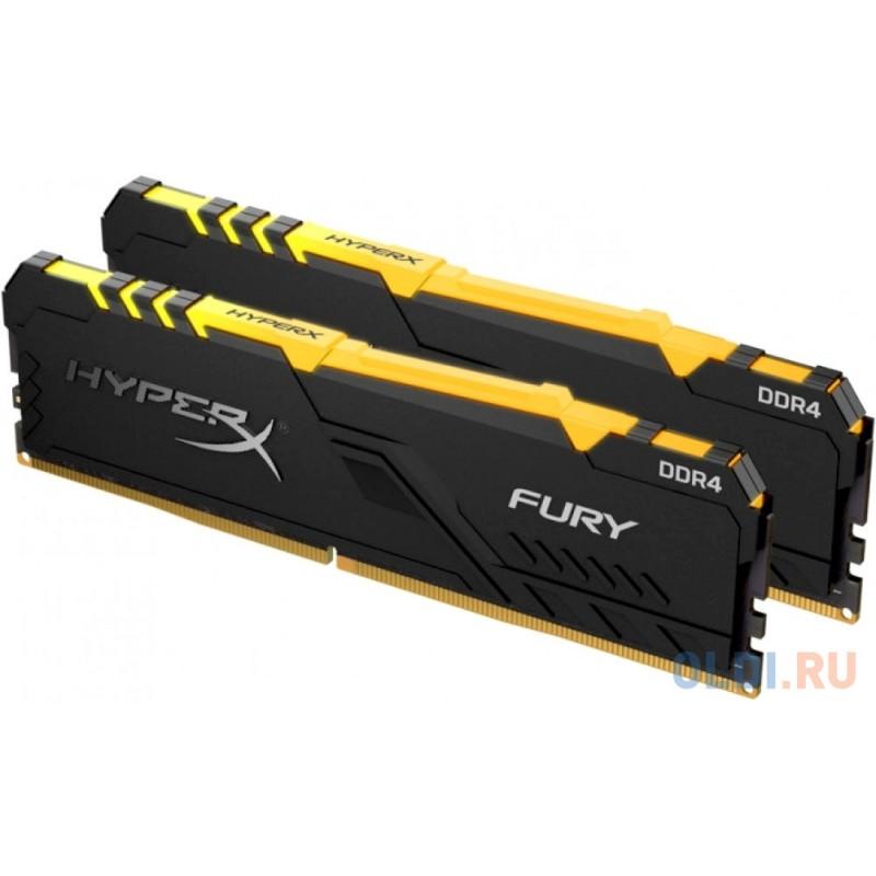 Оперативная память Kingston HX437C19FB3AK2/16 DIMM 16Gb DDR4 3733MHz