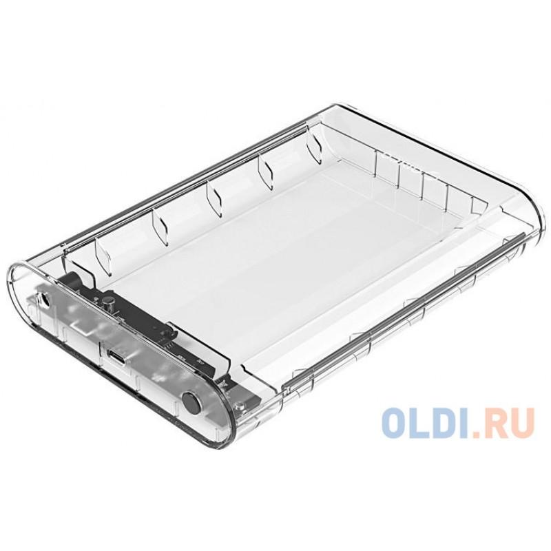 Контейнер для HDD Orico 3139C3 (прозрачный),