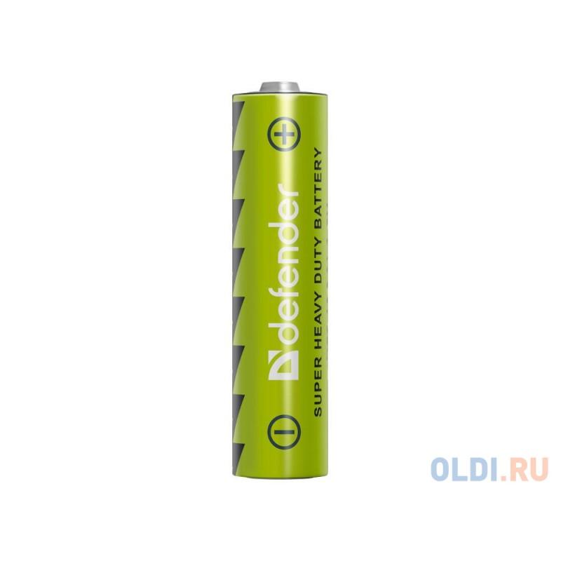 Батарейки Defender (AAA) R03-4B 4 шт 56102