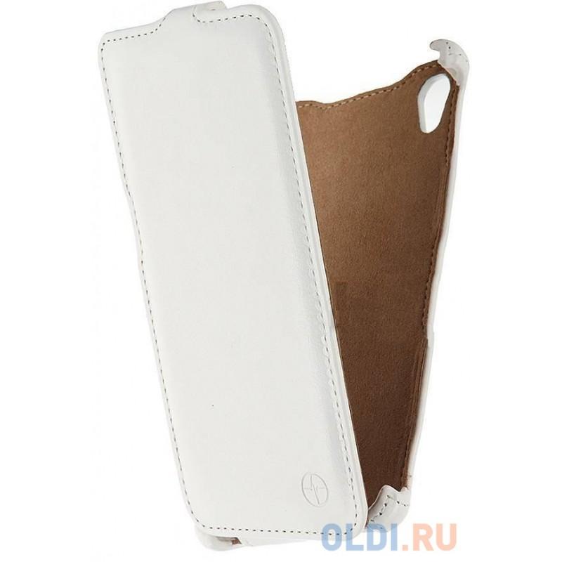 Чехол-флип PULSAR SHELLCASE для Sony Xperia M4 (белый)