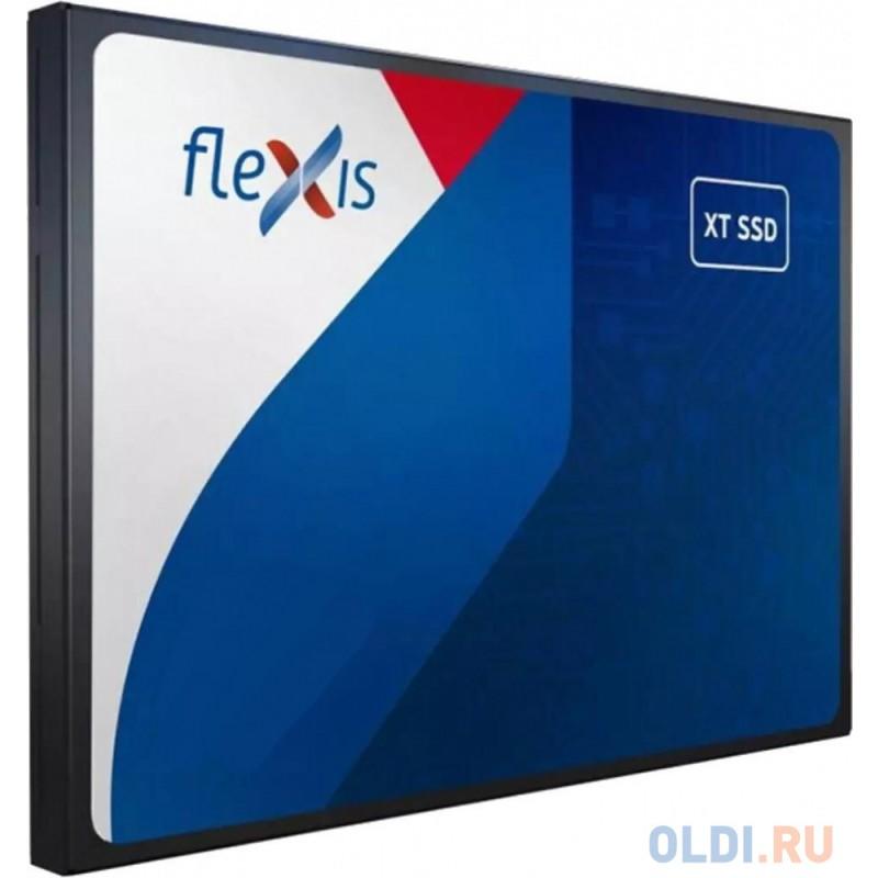 Твердотельный накопитель 120GB SATA3 6Гб/с TLC, SMI2258XT, серия Basic XT, Flexis