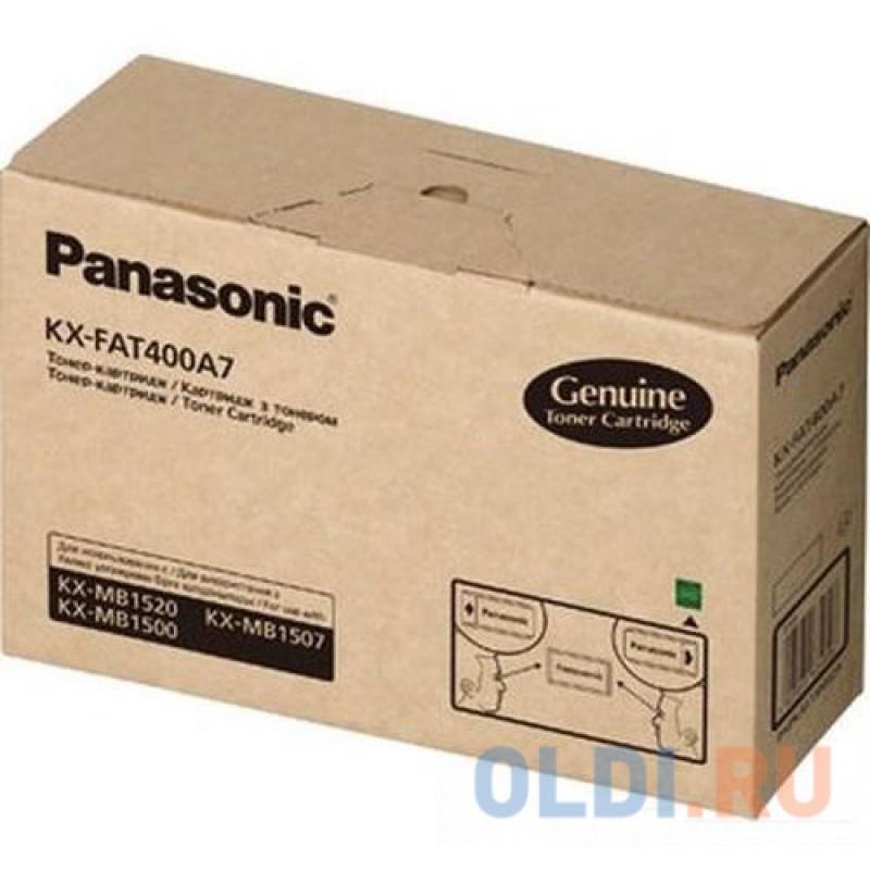 Картридж Panasonic KX-FAT400A7 1800стр Черный