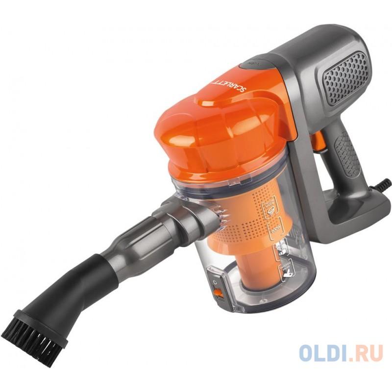 Пылесос Scarlett SC-VC80H12 сухая уборка оранжевый
