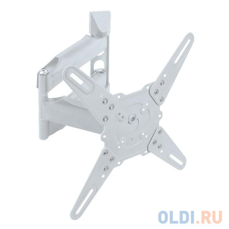 Кронштейн Kromax ATLANTIS-40 white (Наклонно-поворотный для LED TV 22