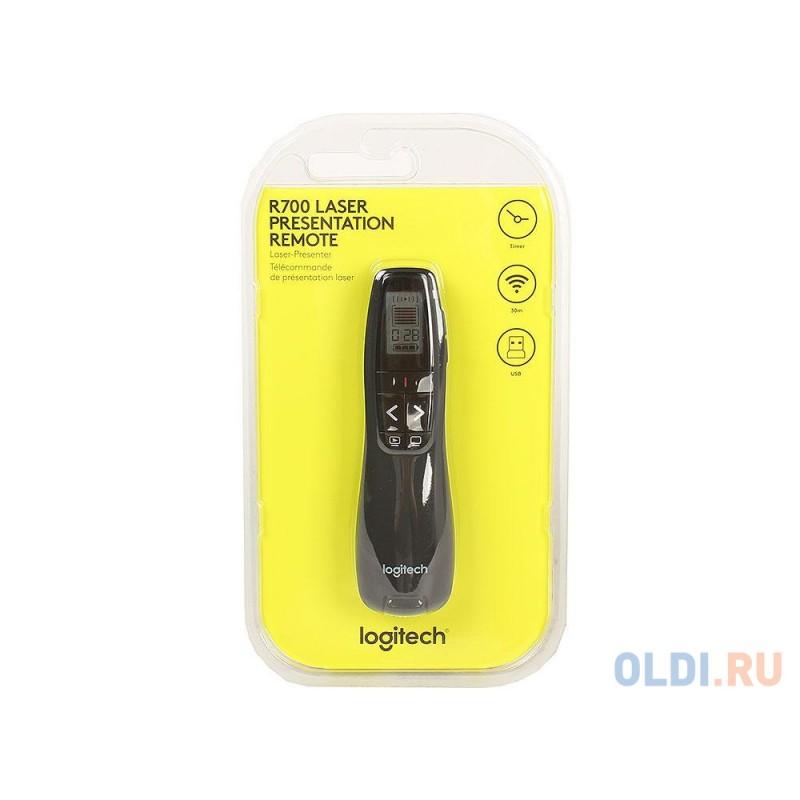 Презентер Logitech Professional Presenter R700 Black USB + Radio 5 кнопок