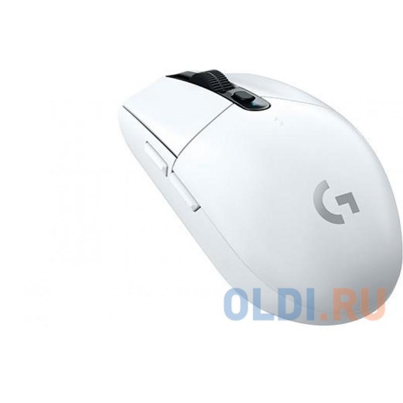 Мышь (910-005291) Logitech G305 Wireless Gaming Mouse LIGHTSPEED 12000dpi White