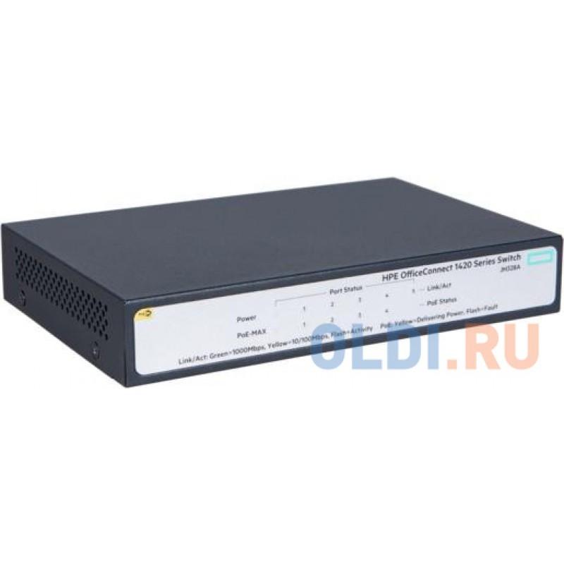 Коммутатор HP JH328A HPE 1420 5G PoE+ (32W) Switch