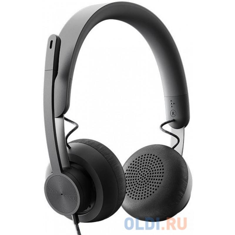 Logitech Headset Zone Wired  UC Graphite