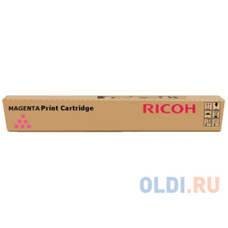 Тонер-картридж Ricoh MP C3501E 16000стр Пурпурный
