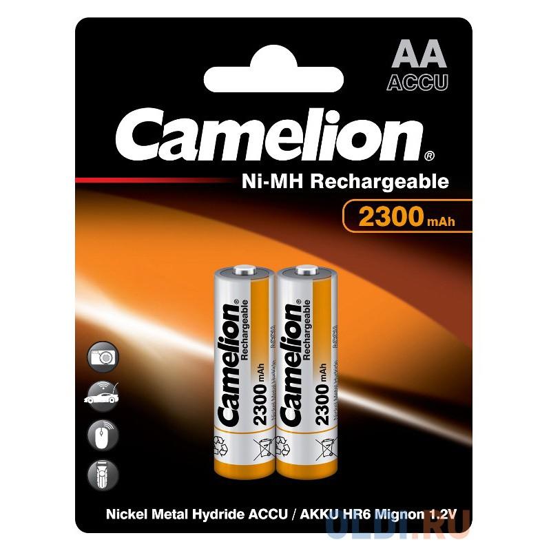 Аккумуляторы 2300 mAh Camelion NH-AA2300BP2 AA 2 шт