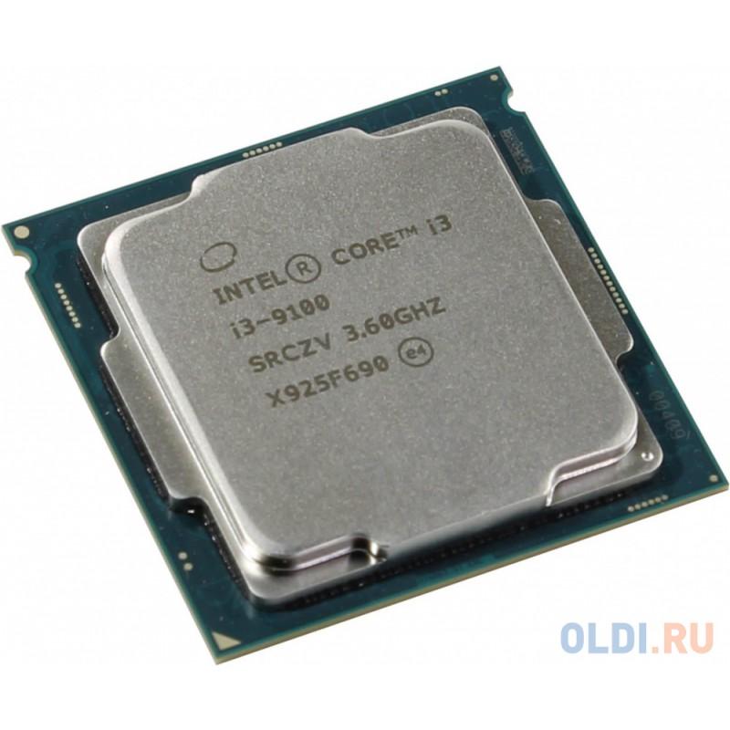 Процессор Intel Core i3-9100 3.6GHz 6Mb Socket 1151 v2 OEM