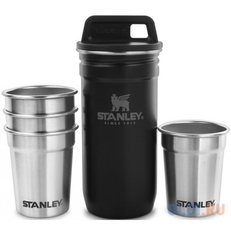 Набор термопосуды Stanley Adventure Nesting Shot Glass Set 0.59л. черный (10-01705-036)