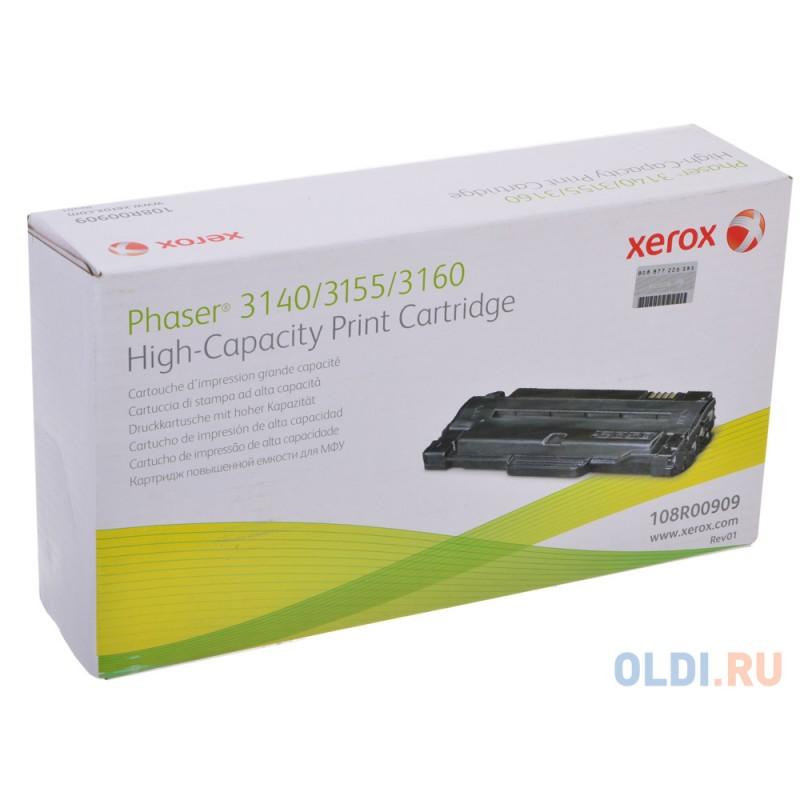 Картридж Xerox 108R00909 108R00909 108R00909 108R00909 108R00909 108R00909 2500стр Черный