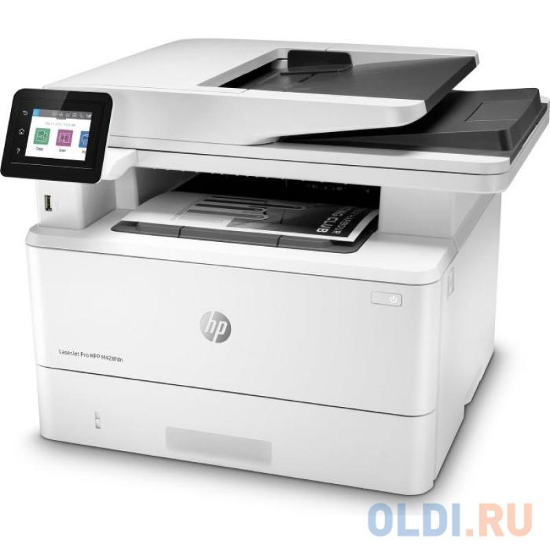 МФУ HP LaserJet Pro M428fdn RU <W1A32A> принтер/сканер/копир/факс, A4, ADF, дуплекс, 38 стр/мин, 512Мб, USB, LAN (замена F6W17A M426fdn)