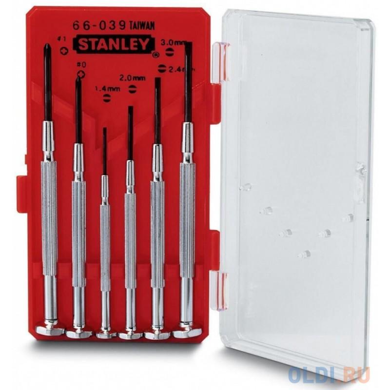 Stanley набор из 6-ти отверток для точной механики (1-66-039)