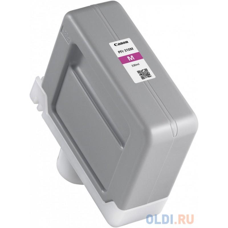 Картридж CANON PFI-310 M пурпурный,  330 мл