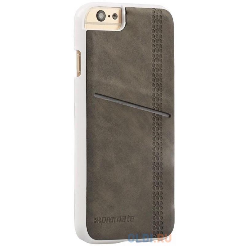 Накладка для iPhone 6 Plus Promate Slit-i6P серый