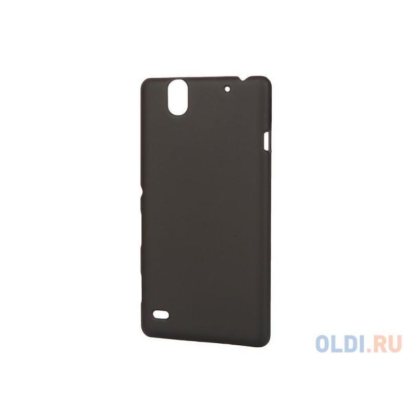 Чехол-накладка Pulsar CLIPCASE PC Soft-Touch для Sony C4 (черная)